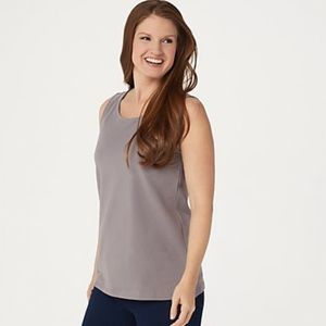 Joan Rivers Builders Long Stretch Cotton Tank